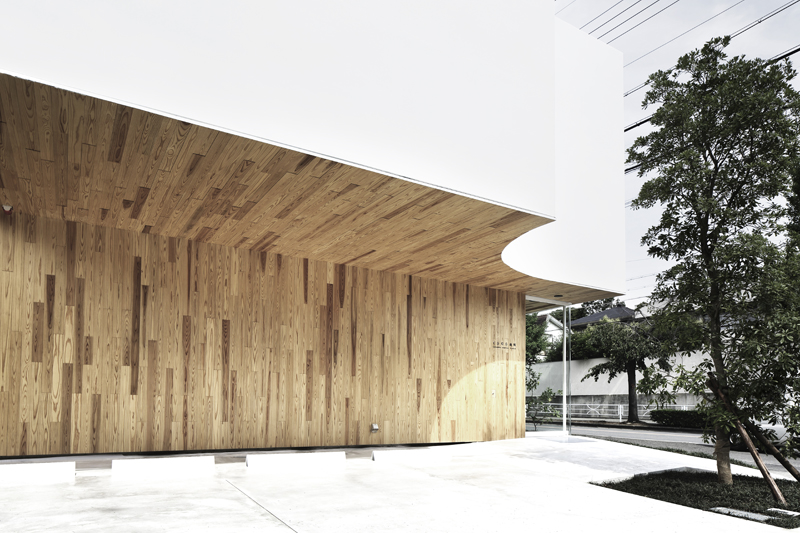 timber architecture osaka dentistry evolo