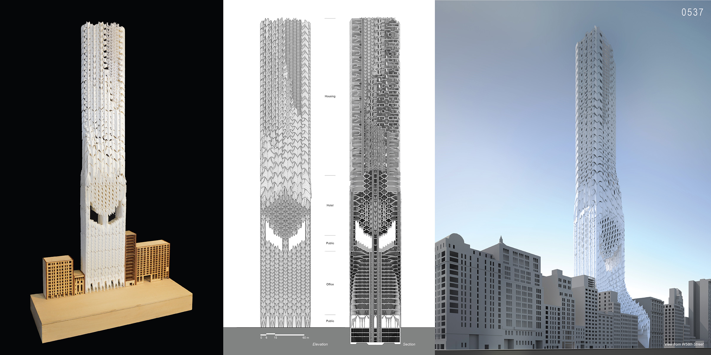 Deep skins new skyscraper typology in nyc as an adaptive for Architecture 2017