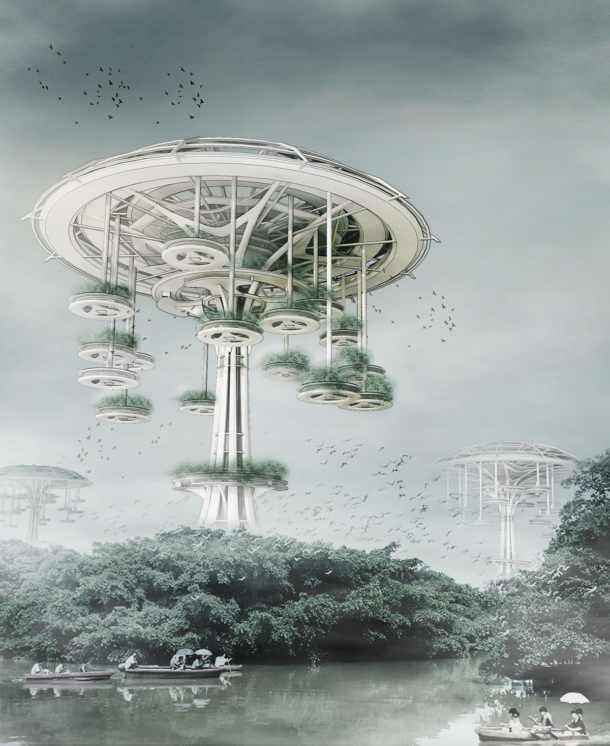 Future Architecture Ideas Floating Waterfront Vi...