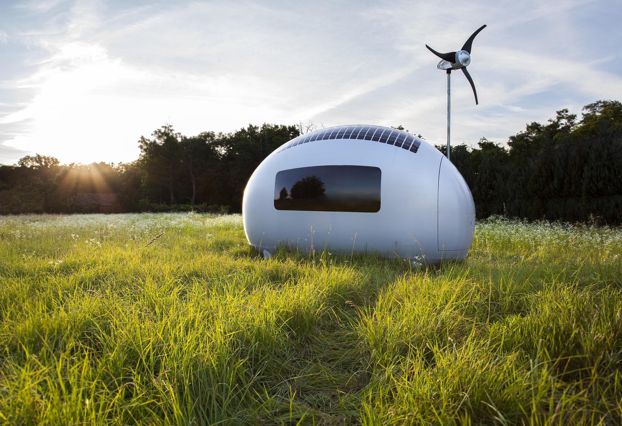 Micro Home our standard micro homes on wheels are 86 wide up to 136 tall from ground to roof in length from 14 to 34 long and include the following Ecocapsule