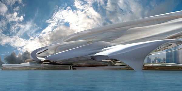 Ultra modern abu dhabi commercial and cultural expo center for Architectural design companies in abu dhabi
