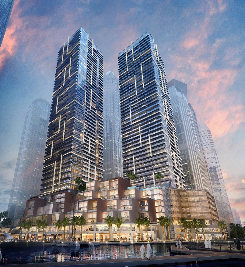 New luxury residences in dubai marina evolo for Number 1 hotel in dubai