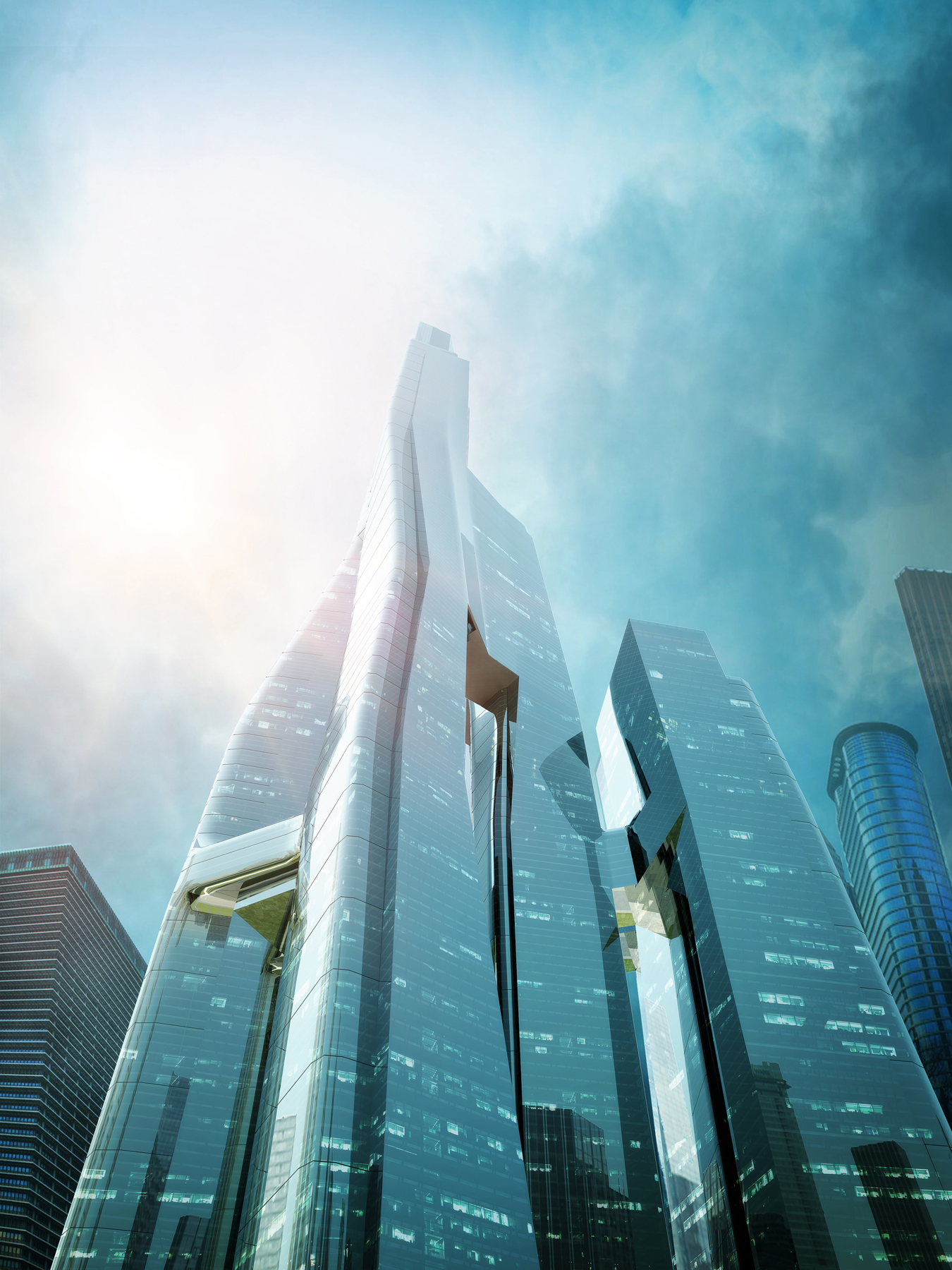 New iconic towers for houston texas set to promote urban for Architecture 2018