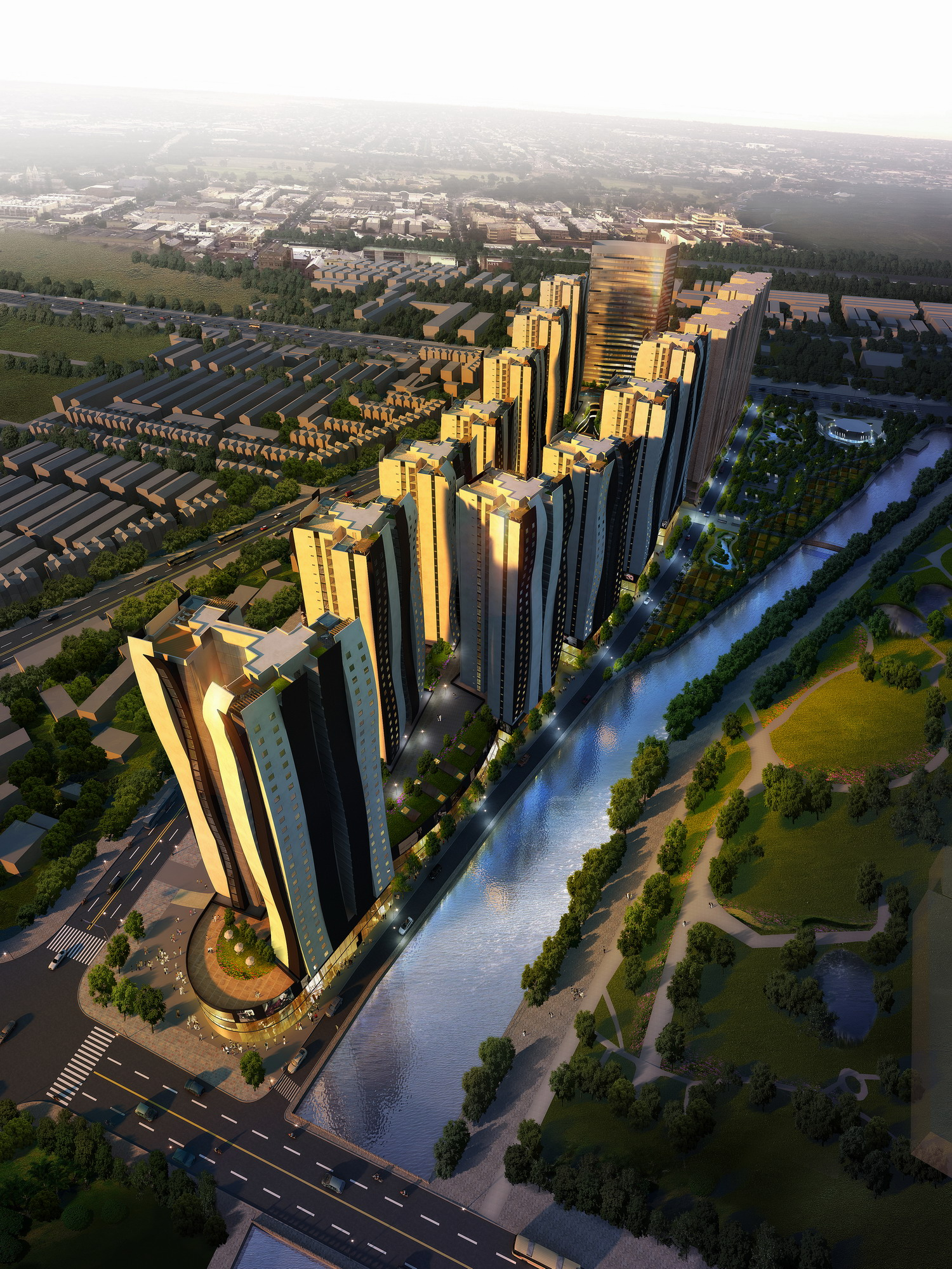 Jiyuan China  city pictures gallery : New Mixed use Masterplan in Jiyuan, China eVolo | Architecture ...