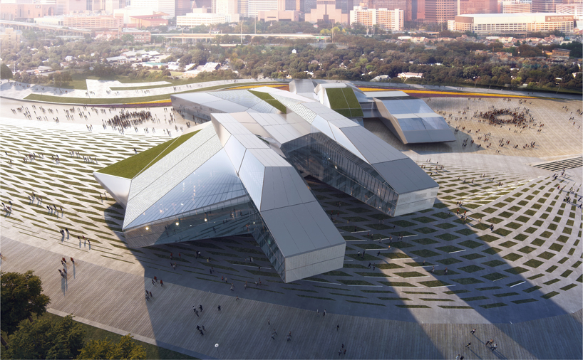 It Also Includes A Series Of Green Roofs Led Walls And Labyrinth For Digital Projections The Total Development Concept Proposal Is 9000 M2