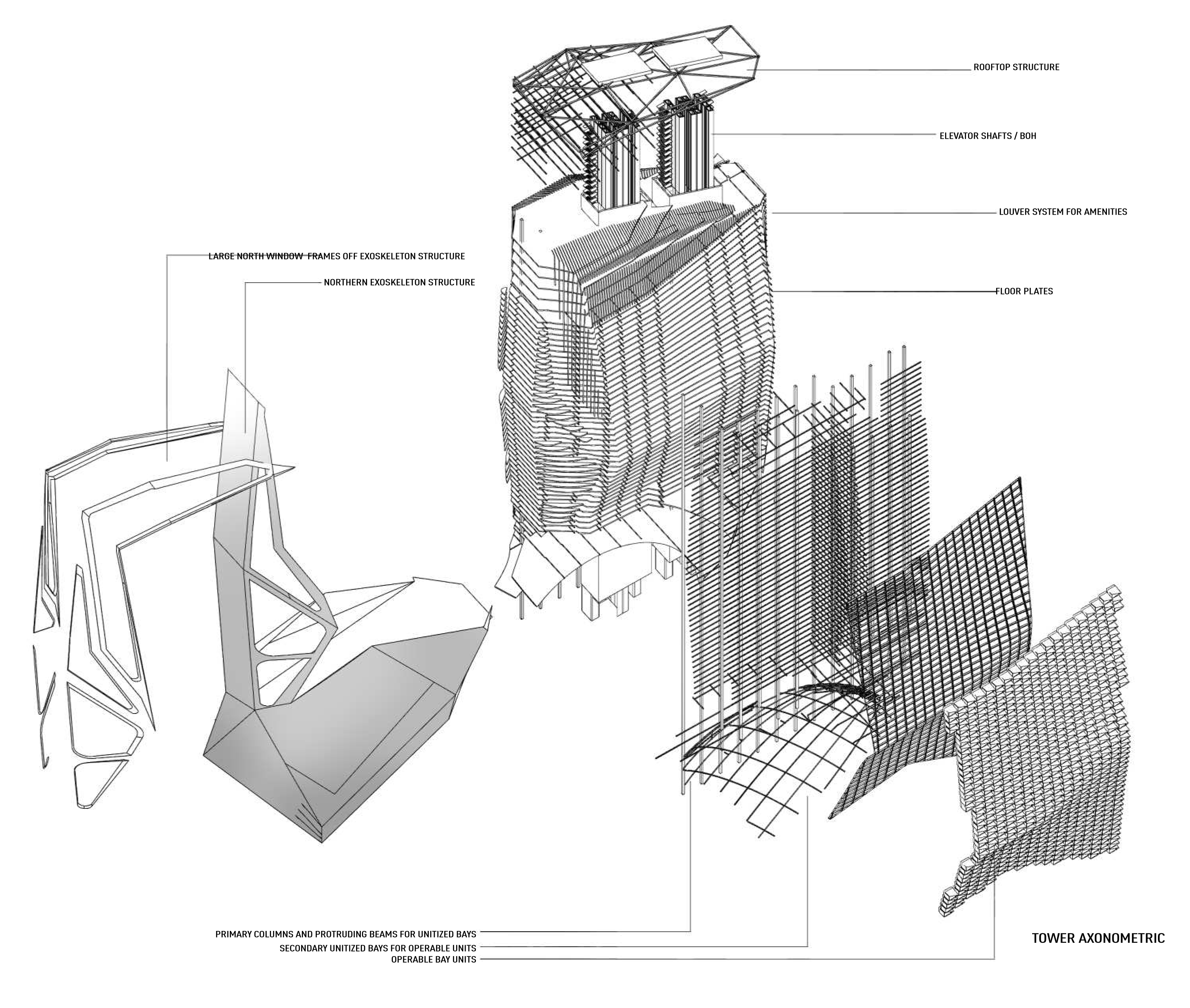 Robotic Facade For A New Skyscraper In Chicago Reacts To
