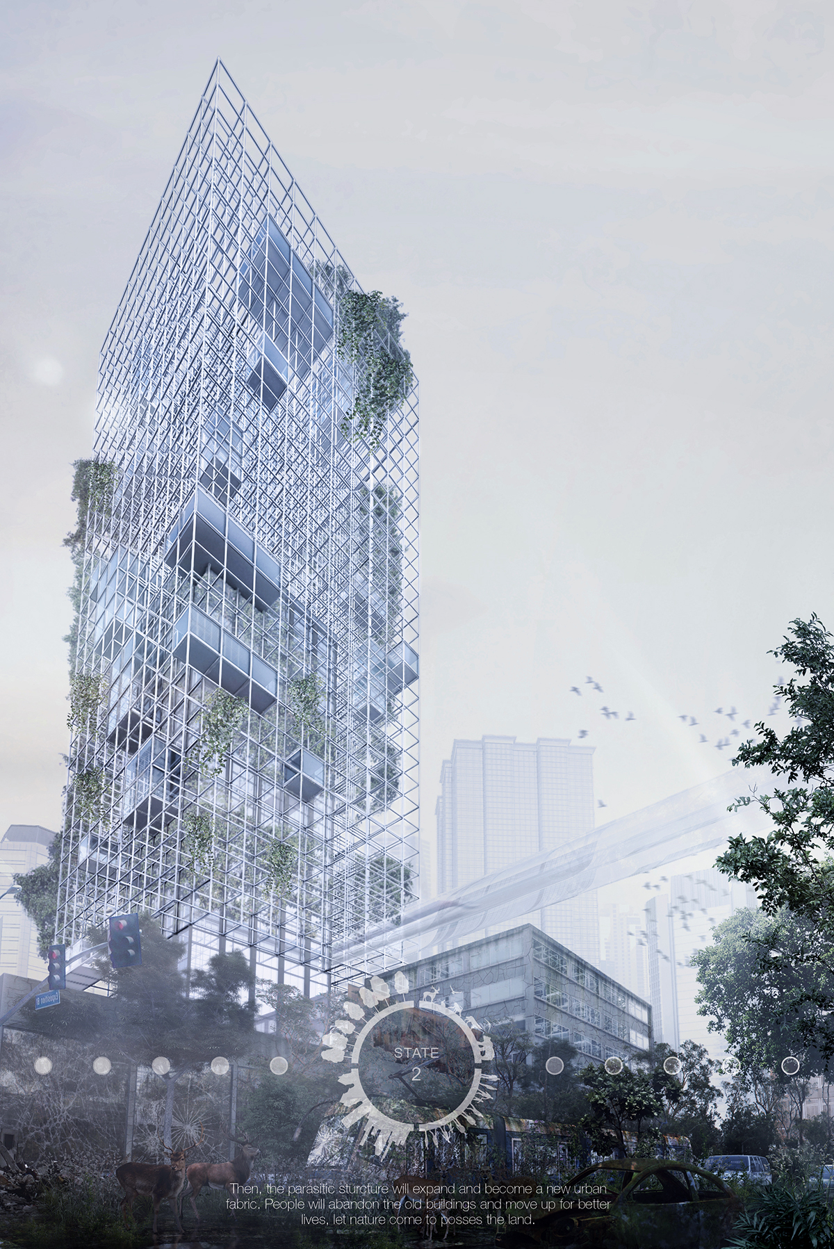 The Banyan Tree Skyscraper Was Designed To Support Humans And
