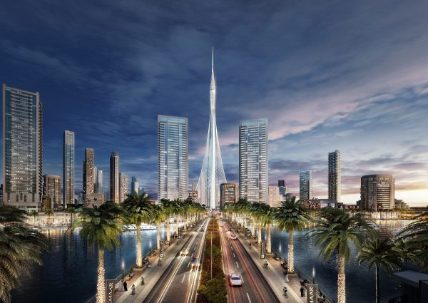 Advanced Wind Tunnel Tests Confirm Structural Strength of Santiago Calatrava's Tower at Dubai Creek Harbour