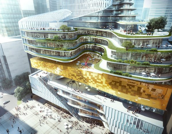 Chongqing Xinhua Bookstore Group Jiefangbei Book City Mixed-use Project, Chongqing, China, by Aedas_03