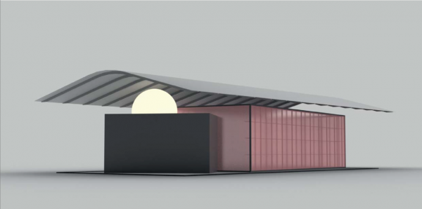 rendering Das Haus 2017 by Todd Bracher - courtesy of imm cologne