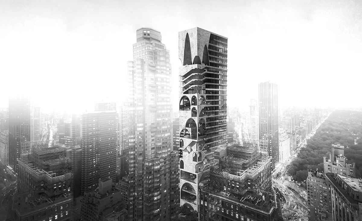 Arch skyscraper evolo architecture magazine for Architecture 2017