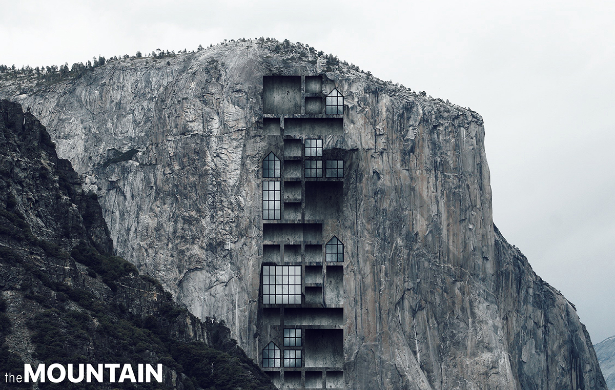 Mountain skyscraper in yosemite evolo architecture magazine for Mountain architects
