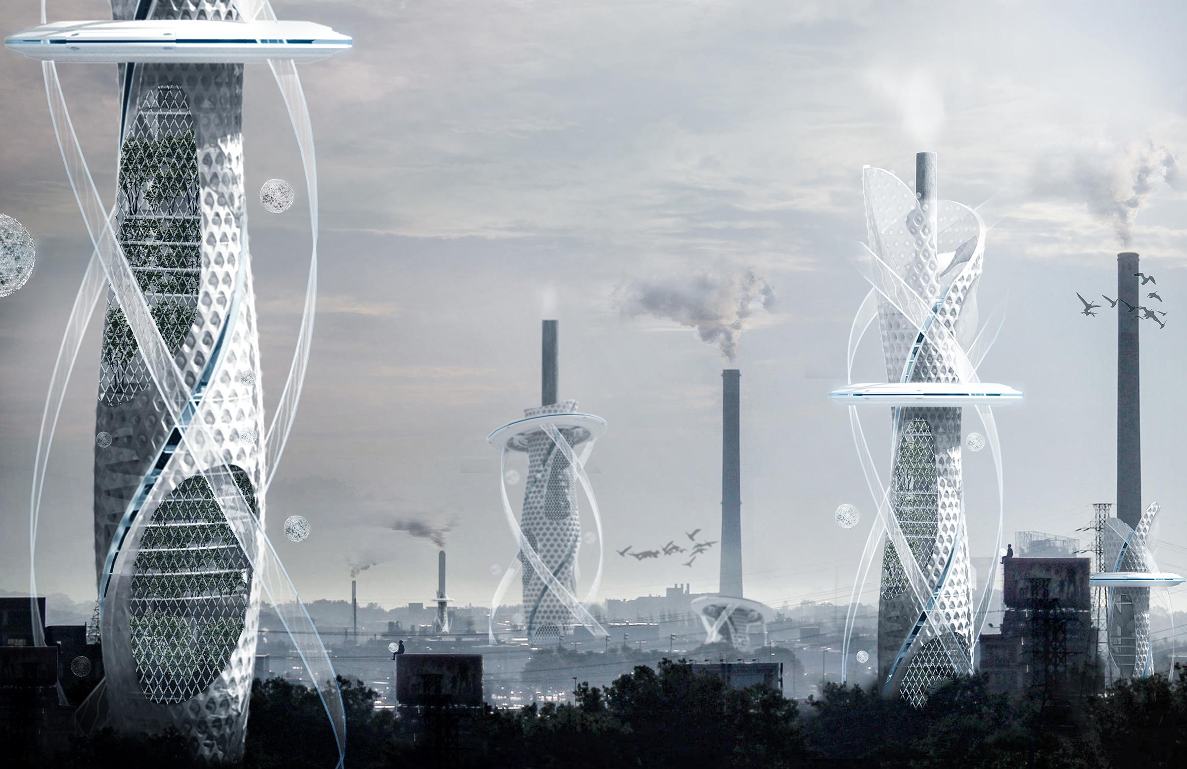 rascacielos del futuro